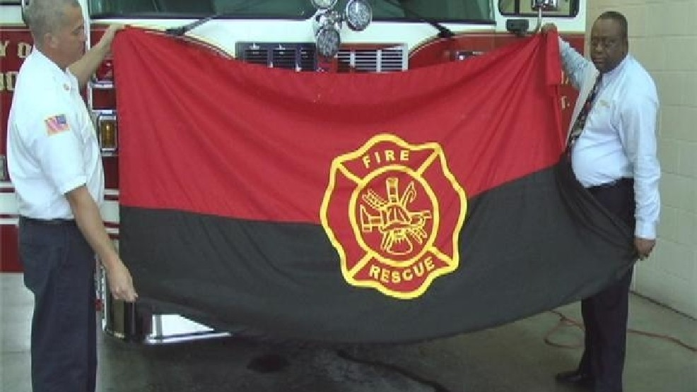 VFD gets donated flags to honor fallen firefighters | WFXL